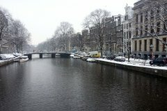 Snow in Amsterdam 2013