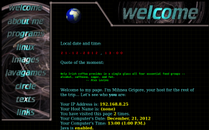Old Website Screenshot